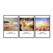 Factory wholesale (No Framed) Sailing series Canvas Print On Printing Wall Pictures 12YM-A-664