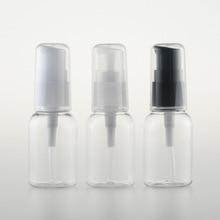 5pcs/set 30ml neckband PET bottle Lotion pump small sample sub bottling Cosmetic wholesale BQ083