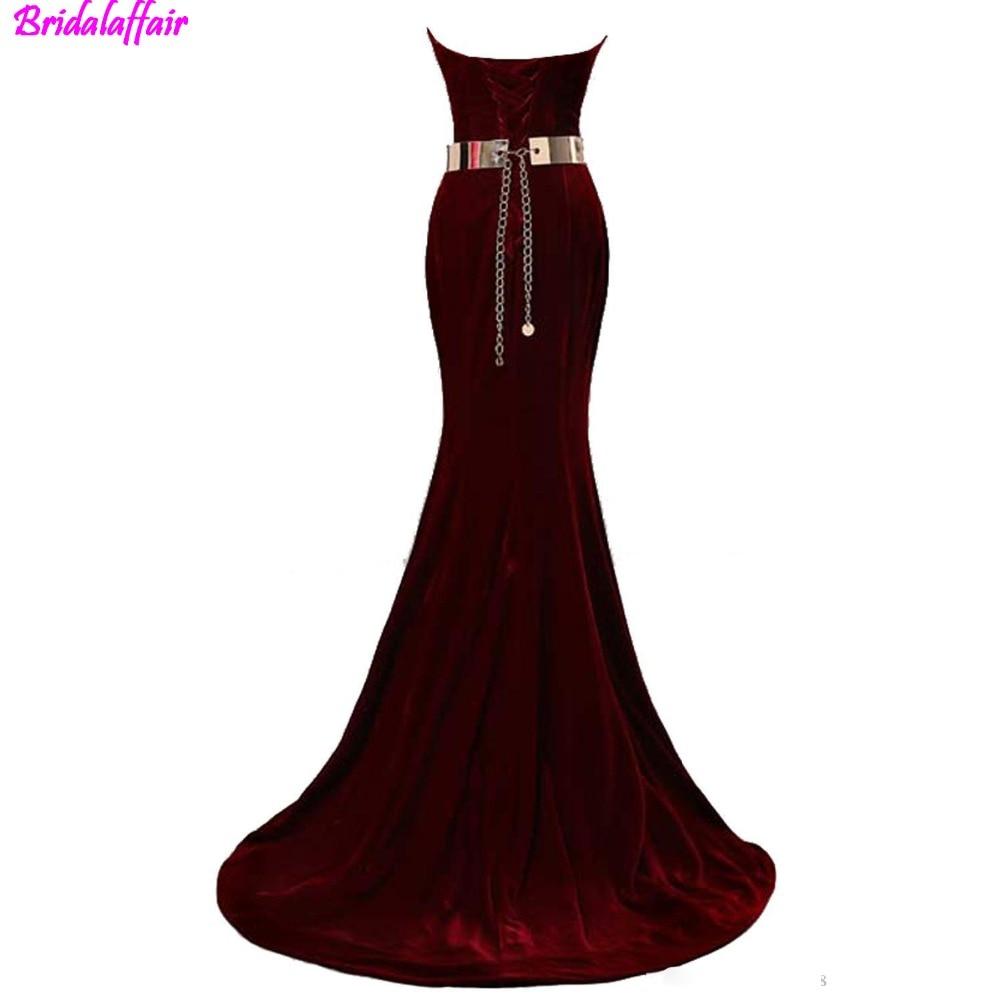 2018-lace-glamorous-fashion-beaded-sweetheart-neck-mermaid-evening-dresses-velvet-burgundy-metal-belt-formal-evening-gowns-prom-dresses (1)