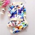 Мальчиков комплект одежды весна/осень детской одежды srts Разноцветные бабочки печати хлопка детей спортивный костюм пальто + Брюки г. и.