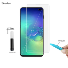 Case Friendly UV Liquid Screen Protector for Samsung S10 S10e S10 Plus Full Glue Tempered Glass for Galaxy S 10 E Plus Film lemonic plus winter cold e liquid