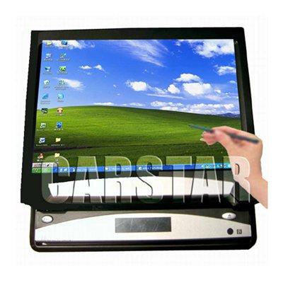 7 inch single DIN motorized indash VGA touchscreen car PC monitor