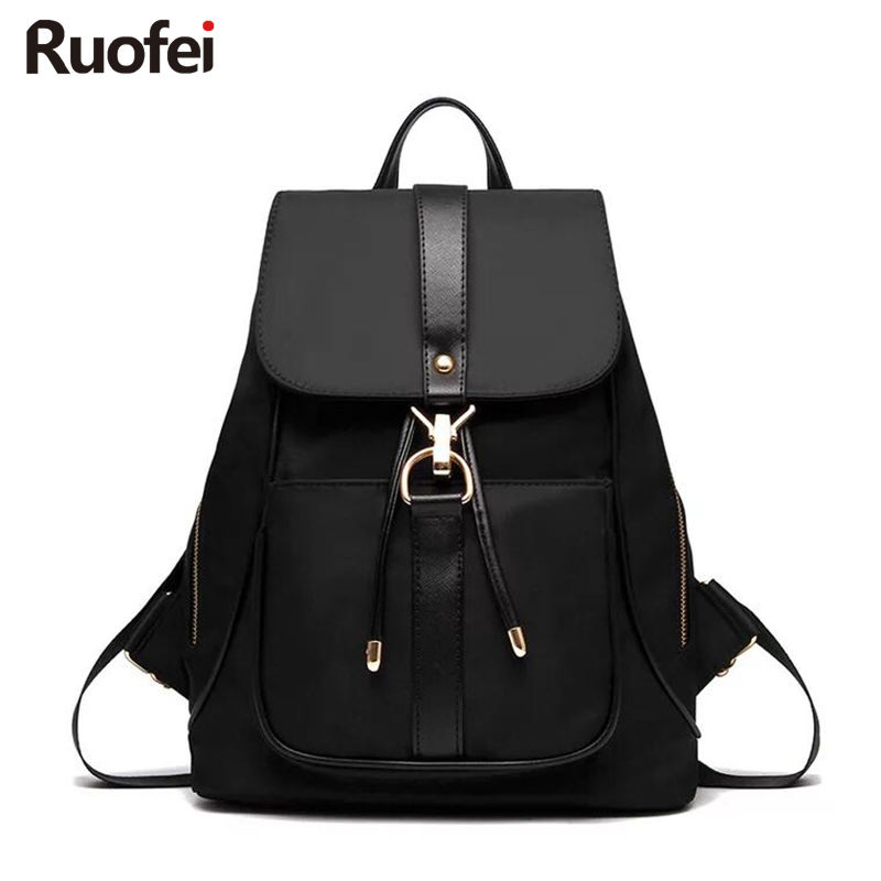 2017Women Backpack High Quality Oxford cloth Mochila Escolar School Bags For Teenagers Girls Top-handle Backpacks Herald Fashion fashion 2017 designer high quality women leather backpack school bags for teenagers girls bag vintage backpacks mochilas escolar