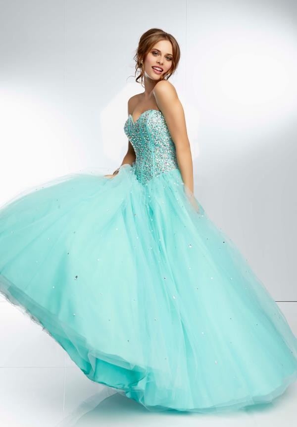 2015-Cheap-Quinceanera-Dresses-Ball-Gowns-Dress-For-15-Years-Aqua-Crystal-Beaded-Top-Sweetheart-Prom (2)