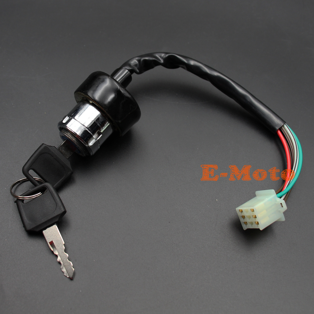 small resolution of 6 wire ignition key switch for 50cc 70cc 90cc 110cc 125cc atv roketa wire ignition key switch for 50cc 70cc 90cc 110cc 125cc atv roketa