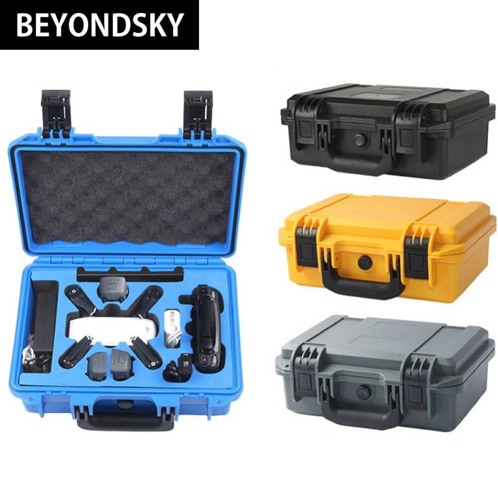 DJI Spark Drone специальный расширенный Водонепроницаемый Жесткий чемодан для RC Quadcopter проффесиональный Пластик чехол для хранения Spark