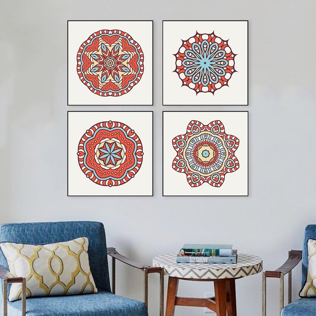 Arabic Calligraphy Wall Art design set wall painting for living room ...