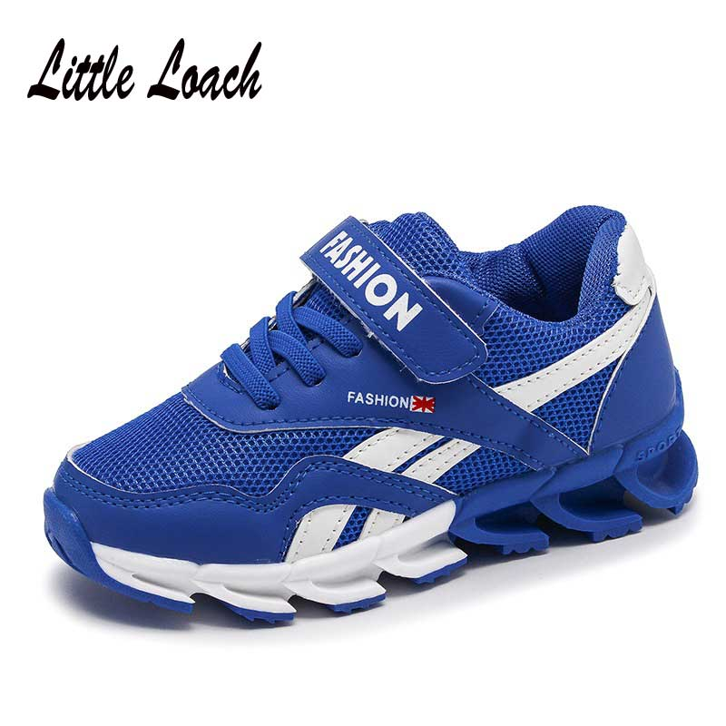 Casual Sneakers For Boys Girls Breathable Mesh Shoes Slip-resistant Childrens Tennis Trainers Spring Kids Sports Shoes Zapatos