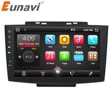 Eunavi 9 »Quad core двойной 2 Din Android 7,1 мультимедиа автомобильный ПК Радио стерео для Haval H5 gps навигации 1024*600 HD 2 г Оперативная память RDS