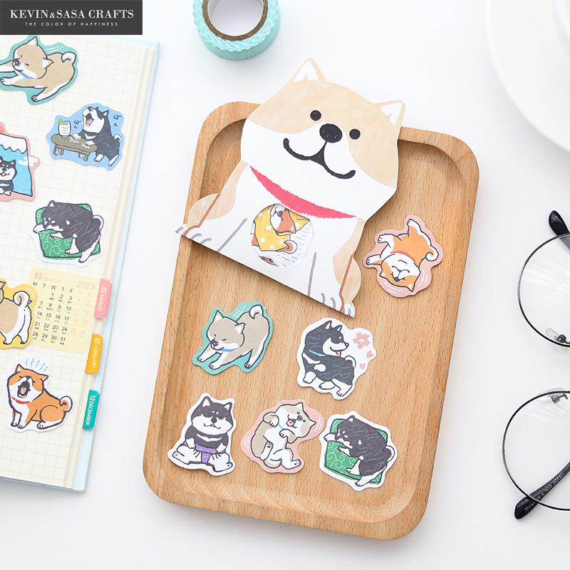 Dogs Sticker Memo Pad Quality Office And School Supplies Sticky Note Kawaii Stickers Notepad Stickers Scrapbooking
