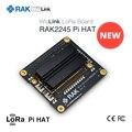 WisLink LoRa плата LoRaWAN шлюз концентратор модуль на основе SX1301 с Raspberry Pi gps антенна, RAK831 обновление Q193