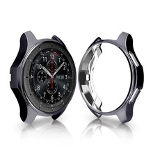 Купить с кэшбэком Galaxy watch 46mm case cover For Samsung Gear S3 Frontier S 3 smart watch Protect shell electroplated Protective case 46