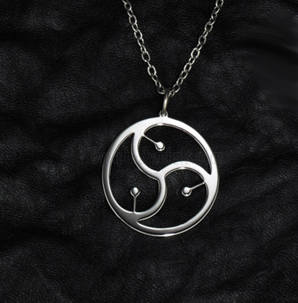 Bdsm emblem collar