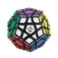 Moyu y YJ YuHu Megaminx Stickerless cubo mágico colorido, juguetes educativos profesional