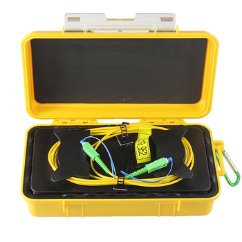 Modo único/SC/APC-SC/APC OTDR zona muerta eliminador de fibra anillos de fibra óptica OTDR caja de Cable de lanzamiento 1km