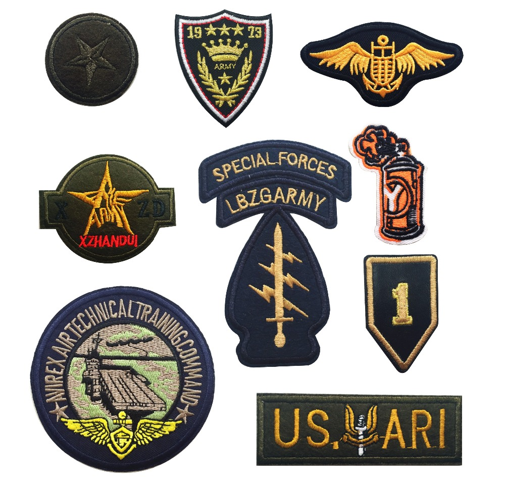 Full embroidery armband cloth badges military symbol rank army full embroidery armband cloth badges military symbol rank army airborne eagle sew iron on patches in patches from home garden on aliexpress alibaba buycottarizona Gallery