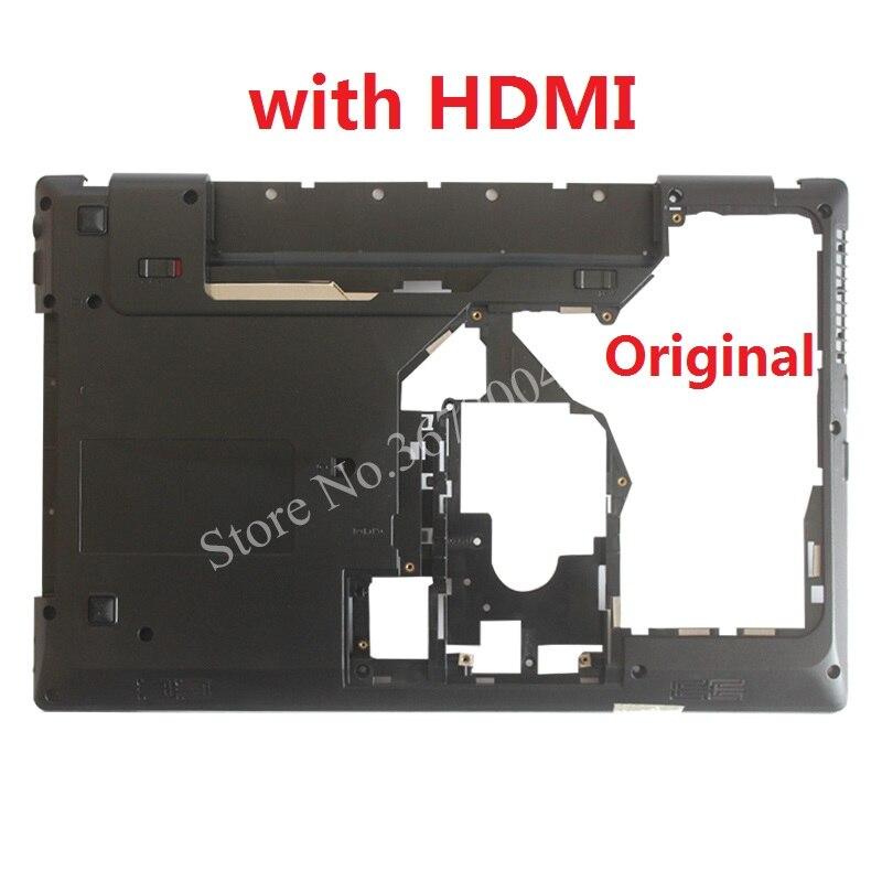 New Laptop Bottom  Cover For Lenovo G570 G575 Bottom Case Base Black