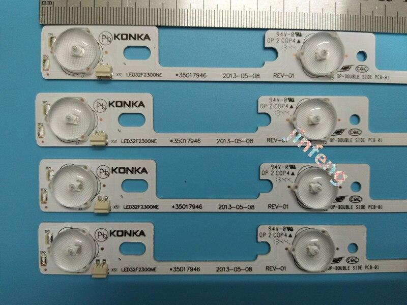 Alert 100pcs/lot New And Original For Konka Led32f2300ne Light Bar,35017947 Backlight Lamp Led Strip 6v Beautiful And Charming Computer & Office