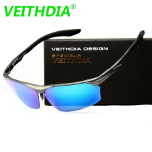 VEITHDIA Men Brand LOGO Designer Driving Al-Mg 71 MM Polarized Sunglasses Glasses Sun Goggles Eyeglasses Mirror Lens 6576