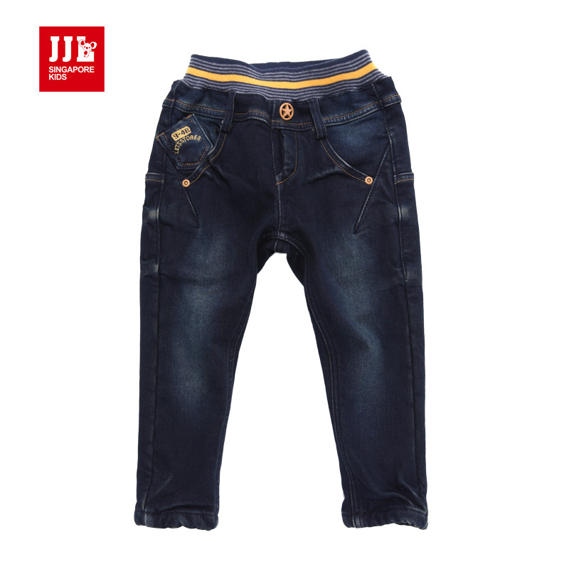 Babys Boys Freedom Fashion Pants Personality Demin Blues Jeans Full New Styles In Jeans From