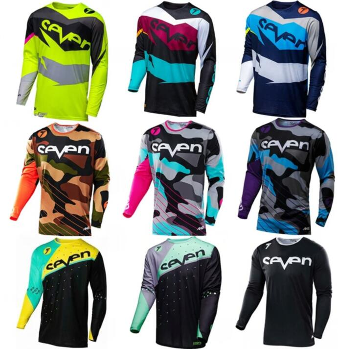 T-Shirt Clothing Jersey-Bmx MTB Mx-Bike Motorcycle Breathable Long-Sleeved Fury Quick-Drying