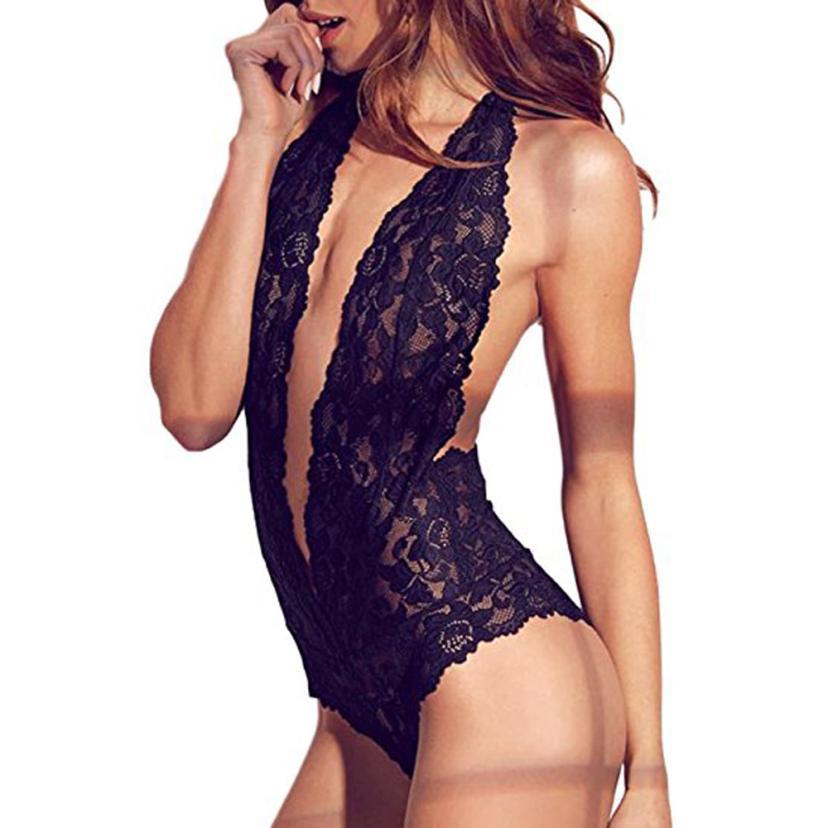 Damen-dessous Bh & Slip Sets Mode Sexy Dessous Spitze Unterwäsche Plus Größe Siamese Babydoll Nacht Sommer Tops Für Frauen 2018 Sexy Unterwäsche Frauen Ein BrüLlender Handel