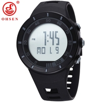 OHSEN Men S Watch 30m Diving Watches Digital Calendar Function Alarm Clock 2015 Hot