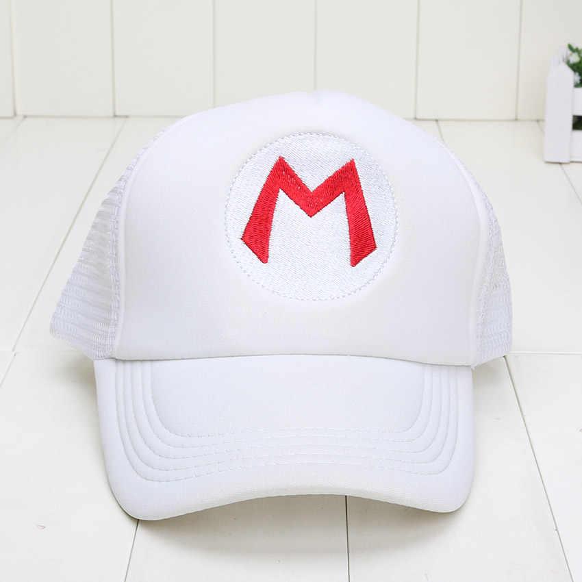 dee89ad84 Super Mario Bros Hat Mario Costume Cosplay Hat Cap Luigi 5 colors plush  toys free shipping