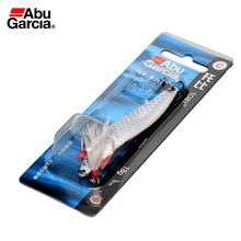 Abu Garcia Brand Toby Series White Flash color 18 g Spoon Fishing Lure Spoon Bait with Feather for  Trout