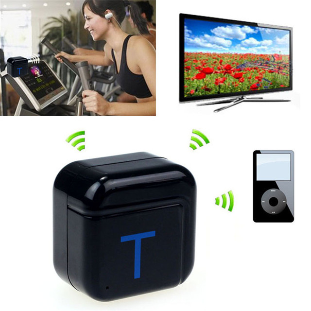 Mecall Bluetooth A2DP 3.5 mm estéreo de alta fidelidad de Audio Dongle transmisor de música