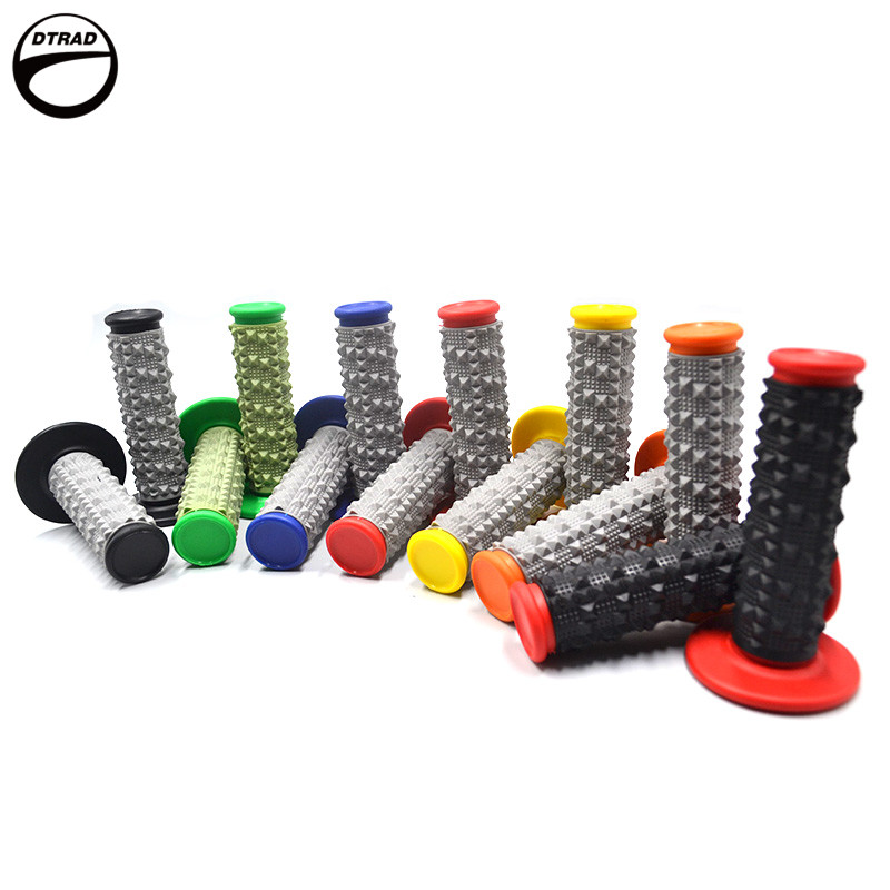 New Pro Taper Grip Handle MX Grip For Dirt Pit Bike Motocross Motorcycle Handlebar Grips Double Color Hand Grips