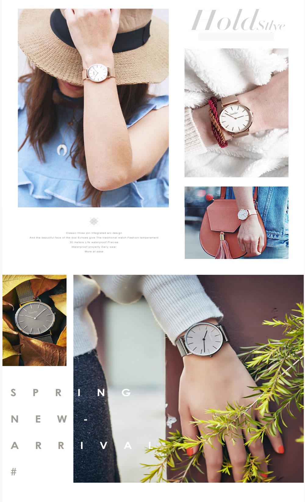 relógios minimalista unisex moda 2019 marca de