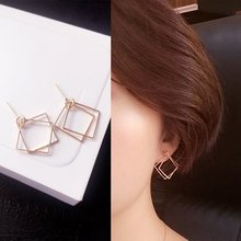 SUKI Fashion Earring Jewelry Retro Earrings Minimalist Geometric Pierced Wholesale Box Women Gift Brincos