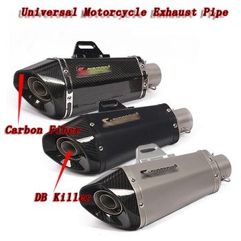 Universal Motorcycle Exhaust Muffler Pipe For NMAX CB650f NC750x TRK502 Moto Escape With DB Killer For most motorcycle ATV