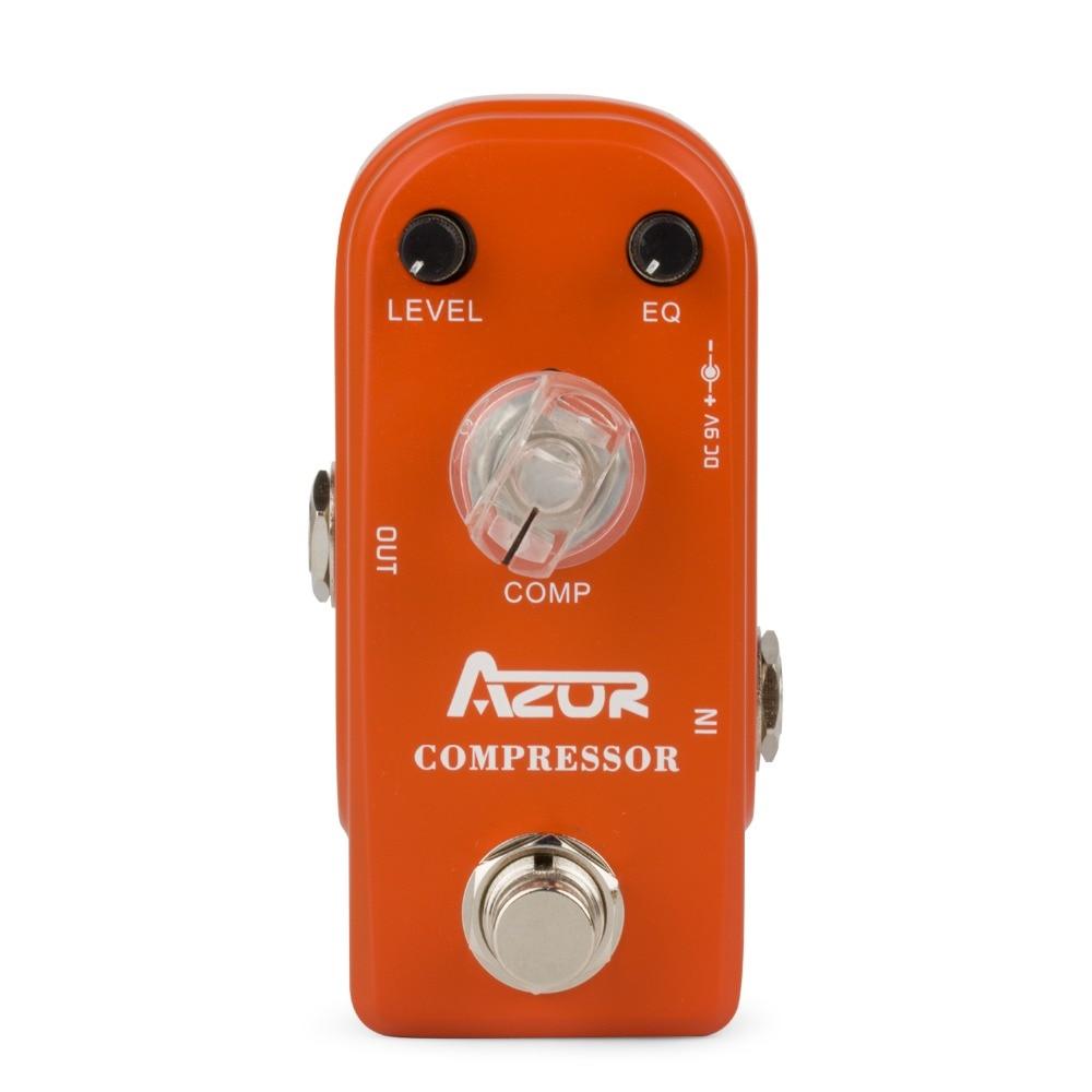 AP-305 Compressor Guitar Effect Pedal Mini with Aluminum Alloy True Bypass икона янтарная богородица скоропослушница кян 2 305