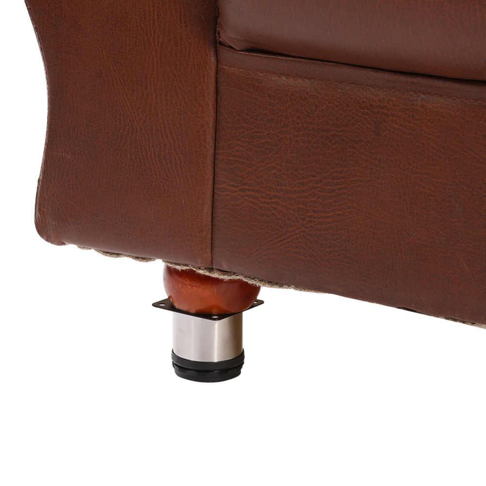 4 шт./компл. Нержавеющаясталь мебель ноги Кабинет ноги Круглый Стенд держатель по высоте мебель аппаратных средств