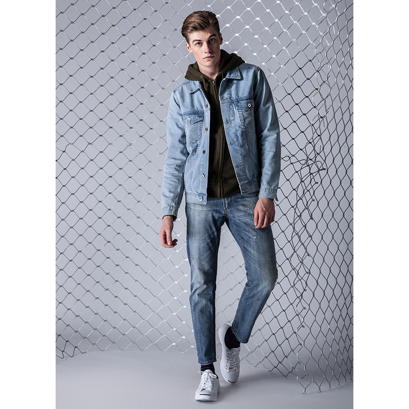 Aliexpress Com Buy 2017 New Arrival Denim Jacket Coat Men Light