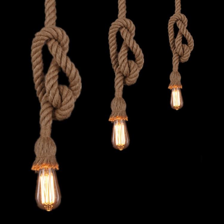 pendant lighting rope # 14