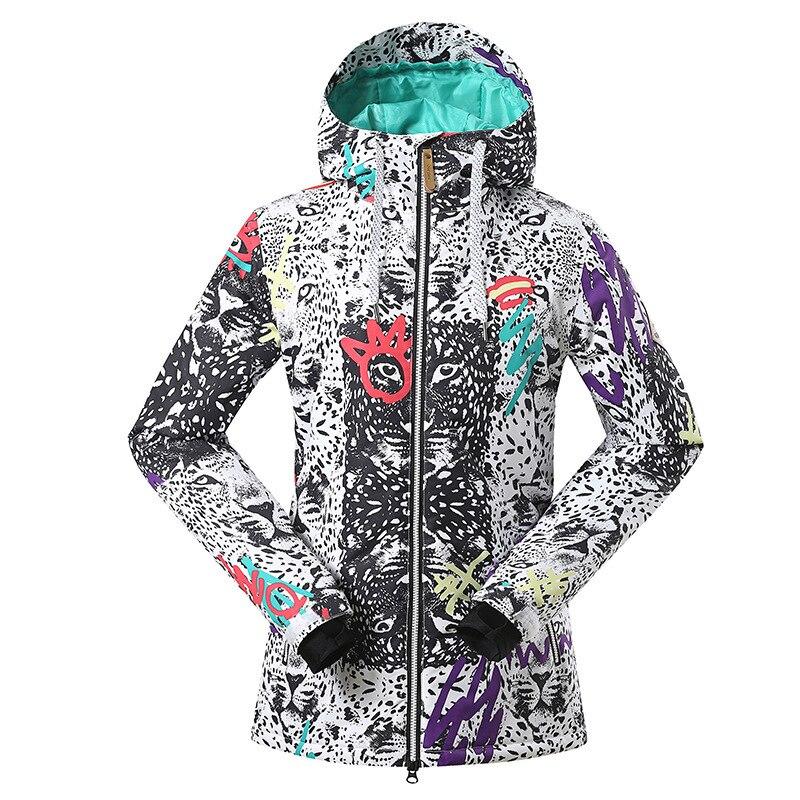 GSOU SNOW Ladies Ski Suit Outdoor Winter Waterproof Warm Windproof Wear-resistant Breathable Ski Jacket For Women Size XS-LGSOU SNOW Ladies Ski Suit Outdoor Winter Waterproof Warm Windproof Wear-resistant Breathable Ski Jacket For Women Size XS-L