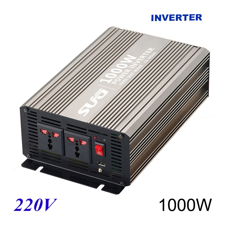 1000W pure sine wave solar power inverter DC 12V 24V to AC 110V 220V digital1000W pure sine wave solar power inverter DC 12V 24V to AC 110V 220V digital