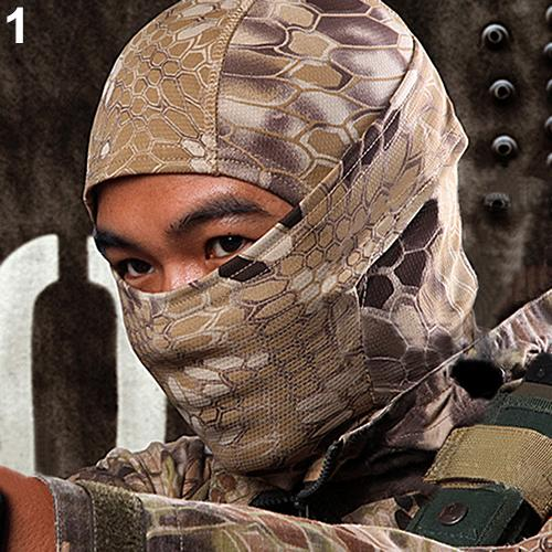 1PC Camouflage Army Cycling Motorcycle Cap Balaclava Hats Full Face Mask Factory Price