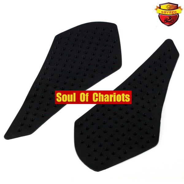 For SUZUKI GSF1250 BANDIT GSX1250FA GSF/GSX 1250 Motorcycle Tank Traction Pad Gas <font><b>Knee</b></font> Grip Protector Anti slip sticker 3M Black