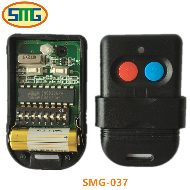 5pcs Free Shipping Malaysia 5326 Dip Switch Universal Garage Door