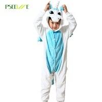 2017 Kids Pajamas Warm Pyjama Children S Unicorn Pajamas For Girls Boys Cartoon Sleepwear Child Animal