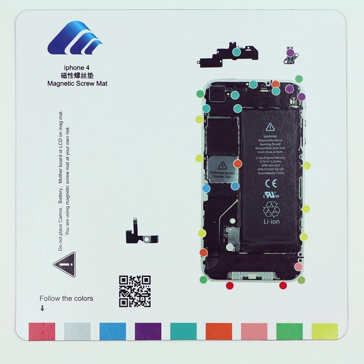 professional magnetic screw mat work pad for iphone 4 iphone 4s rh aliexpress com iphone 4 screw guide pdf iphone 4 screw guide pdf