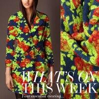 Özel yüksek dereceli kaşmir yün ithalatı 9a11c yünlü kumaşlar coat giyim/100 cm * 150 cm