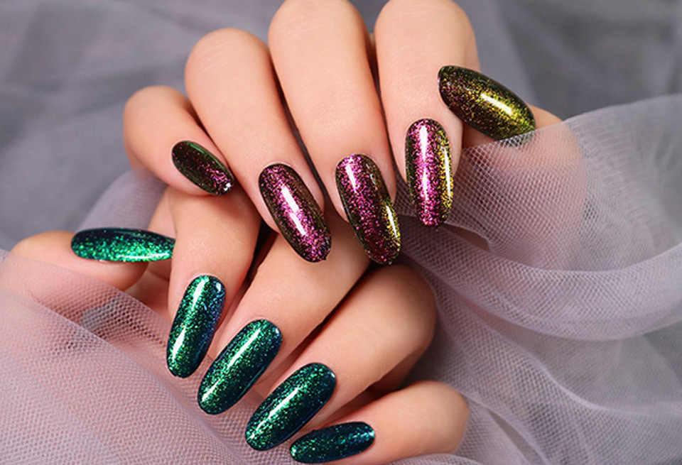 LAKIMU 12 Color Chameleon Gel Nail Polish UV Gel Polish Soak Off UV LED Semi-permanently Nail Art Hybrid Varnishes Need Top Coat
