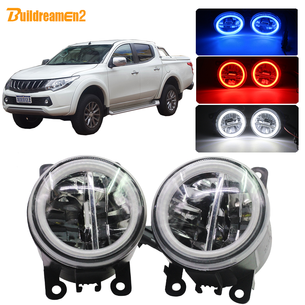 DAYTIME RUNNING LIGHT LED DAYLIGHT FIT FOR MITSUBISHI TRITON L200 2009-2013