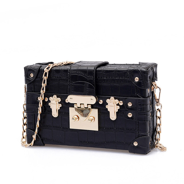 Small Chains Women Box Bags...