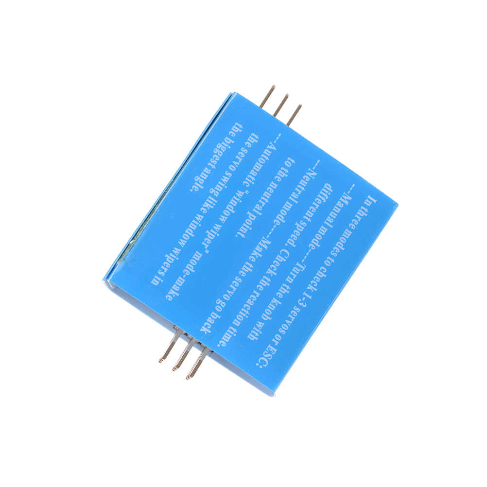 Caliente 3CH ECS congruencia control de velocidad canales de alimentación Venta caliente artes visuales RCmall Multi RC Digital ESC servotester